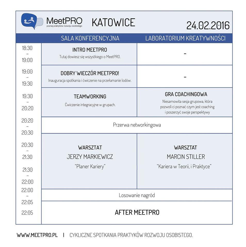 lutowe spotkanie MeetPRO w Katowicach