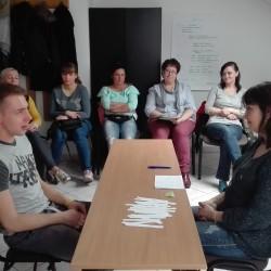 """Piąty dzień szkolenia projektu """"Ja=Sukces"""" realizowanego w Mysłowicach"""